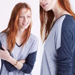 Madewell Color-block top